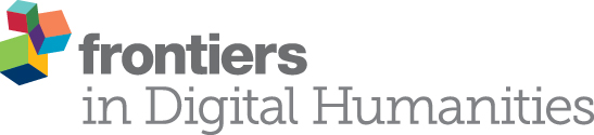 """Journal paper accepted on """"Frontiers in DH"""""""