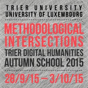 Trier DH Autumn School