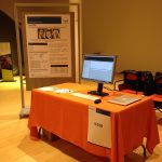 Our desk at the Marie Sk?odowska-Curie Actions 2014 Conference