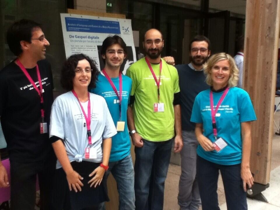 The DH group and the historian Maurizio Cau