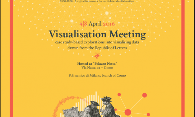 Participation to the COST Visualisation Meeting